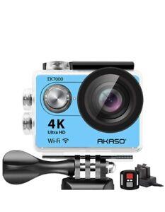 AKASO EK7000 4K WiFi Sports Action Camera Ultra HD Waterproof DV Camcorder 12 MP