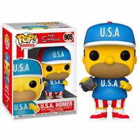 Figura Funko POP Homer USA 905 Los Simpsons