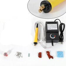 Multifunction Pyrography Machine Wood Burning Craft Hobby Tool Kit 1 Pen 10 Tips