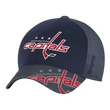 NHL Washington Capitals Structured Flex Fit Cap Center Ice Collection Hat