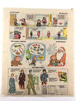 1977 Andy Capp Family Circus Amazing Spiderman Newspaper News Comics Ads N030
