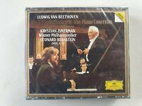 Zimerman Leonard Bernstein BEETHOVEN 3 cd sealed - digital Deutsche grammophon