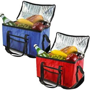 28L Extra Large Cooling Cooler Cool Bag Box Picnic Camping Food Ice Drink