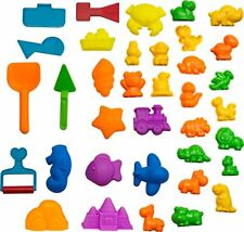 CoolSand Animal Sand Molds & Tools Kit (36 Pcs) - Works with All Other Play Sand