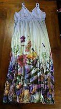 Katies Angels & Insects stretchy maxi dress szL BNWT free post E7