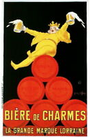 94582 1900's French Biere de Charmes Beer Food & Wine Decor LAMINATED POSTER FR