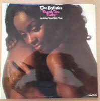 The Stylistics Thank You Baby UK LP