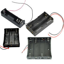 18650 Battery Holder Case 1x/2x/3x/4x 18650 3.7V Battery Storage Box & Wire Lead