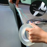Clear Protector Sill Scuff Car Door Plate Sticker Bumper Body Anti Scratch Strip