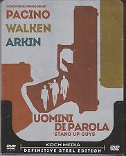 Dvd SteelBook UOMINI DI PAROLA ♦ STAND UP GUYS con Pacino Walken Arkin new  2013