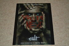 CHAD ROOK signed autograph 8x10 ( 20x25 cm ) In Person CULT Dustin Wartell
