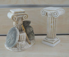 Weapons and Ionic column sculpture set artifacts