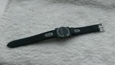 Bioflow Reflex magnetic wrist strap - black leather strap