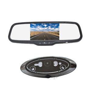 Emblem Reversing Camera & 5 Inch Rear View Monitor for Ford Ranger (2011-2018)