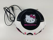 Hello Kitty Cd Player Boombox Radio Stereo (Saniro 2013) Kt2026Mby Tested Gc
