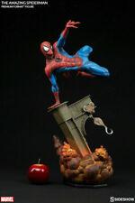 SIDESHOW MARVEL SPIDER-MAN PREMIUM FORMAT Figure Statue DISNEY AVENGERS Figurine