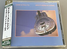 DIRE STRAITS Brothers in arms SHM CD JAPAN as new with OBI STRIP UICY-91415