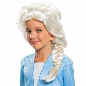 Disney Frozen 2 Elsa Girls Child Costume Wig   Disguise 22810
