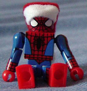 Marvel Minimates Santa Spidey Retailer Holiday Exclusive Spider-Man 2005 Xmas