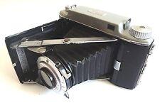 Vintage KODAK Tourist II Folding Camera with Brown Leather Case 620 Film USA