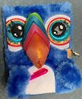 TOUCAN TILLY JOURNAL DIARY LOCK  KEY 3D FURRY SHIMMER SUPER CUTE ACCESSORY