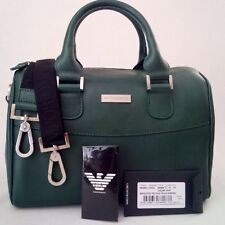 *NWT* EMPORIO ARMANI SATCHEL BOSTON BAG HANDBAG SHOULDER BAG MADE IN ITALY