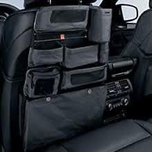 Car Seat Back Tidy Pocket Storage Bag Organiser Genuine BMW 52120410752