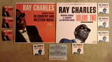 """RAY CHARLES - MODERN SOUNDS IN C&W VOL. 1 & 2  - 7"""" JUKEBOX EP COVERS ONLY"""