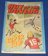 ROY OF THE ROVERS COMIC 24TH OCTOBER 1981