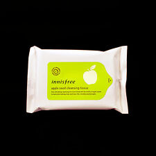 Innisfree Apple Seed Cleansing Tissue Travel Size Facial Cleansing Tissue 15wipe