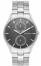 Skagen SKW6266 Men's Holst Stainless Steel Silver Black Dial Day Date Watch
