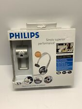 PHILIPS - SPC701NC Quality PC Web Cam With Bonus Headset - NEW Vintage From 2006