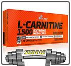 Olimp L-CARNITINE 1500 Extreme Mega Caps Fat Burner Weigh Loss Slimming Diet