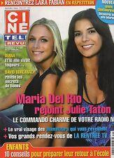 CINE REVUE (belge) 2009 N°35 diana celine dion marc lavoine david boreanaz
