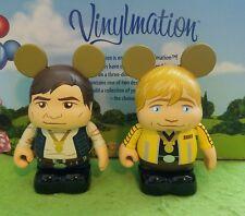 "Disney Vinylmation 3"" Park Set 5 Star Wars Han Solo Luke Skywalker Ceremony"