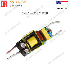 10W 3-4X3W High Power Supply LED Driver For Light AC 85-277V Constant Current