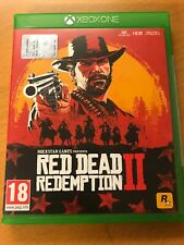 MICROSOFT XBOX ONE XBOXONE RED DEAD REDEMPTION 2 PAL ITALIANO ☆