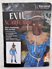 NEW Karnival Halloween Evil Scarecrow Costume Size S  FREE SHIPPING