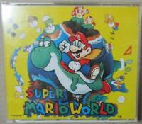 SUPER MARIO WORLD Original Soundtrack OST CD snes nes Nintendo Made in Japan FS