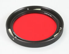 HYCON CLASS III RED FILTER, PART NO. 120769-3, 3-PIN MOUNT ~4 INCHES/178445