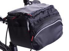 Raleigh Front Handlebar Pannier With Q/R Shoulder Strap, Bag & Rain Cover - 4.2L