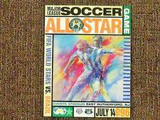 1996 Major League Soccer Inaugural All-Star Game Program Giants Stadium