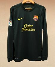 FC BARCELONA 2011/2012 NIKE AWAY FOOTBALL SOCCER SHIRT JERSEY CAMISETA SPAIN