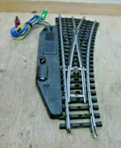 Märklin 2261 2263 H0 Electric Railroad Track Right K With Lighted Lamp Post