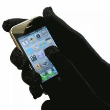 IGGI 4657 Completely Touch Screen Compatible Warm and Snug Black Gloves - New