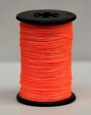 Flo. Orange BCY Halo Archery Bow String Serving, .014, Free Shipping