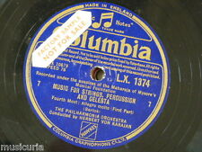 """78rpm 12"""" BARTOK music for strings percussion & celesta MOVEMENT 4 ONLY LX 1374"""