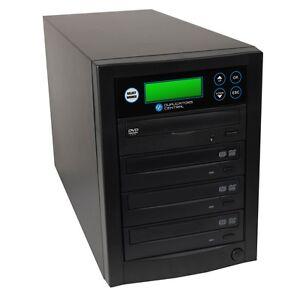 Duplicators Central 1 to 3 Target Multiple DVD CD Disc Copier Burners System