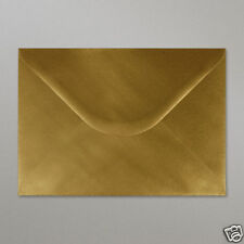 25 Metallic Gold C5 Envelopes - Weddings / Christmas / Invitations 100 gsm