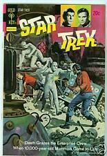 STAR TREK #21 F/VF, GOLD KEY COMICS / DELL, KIRK, SPOCK